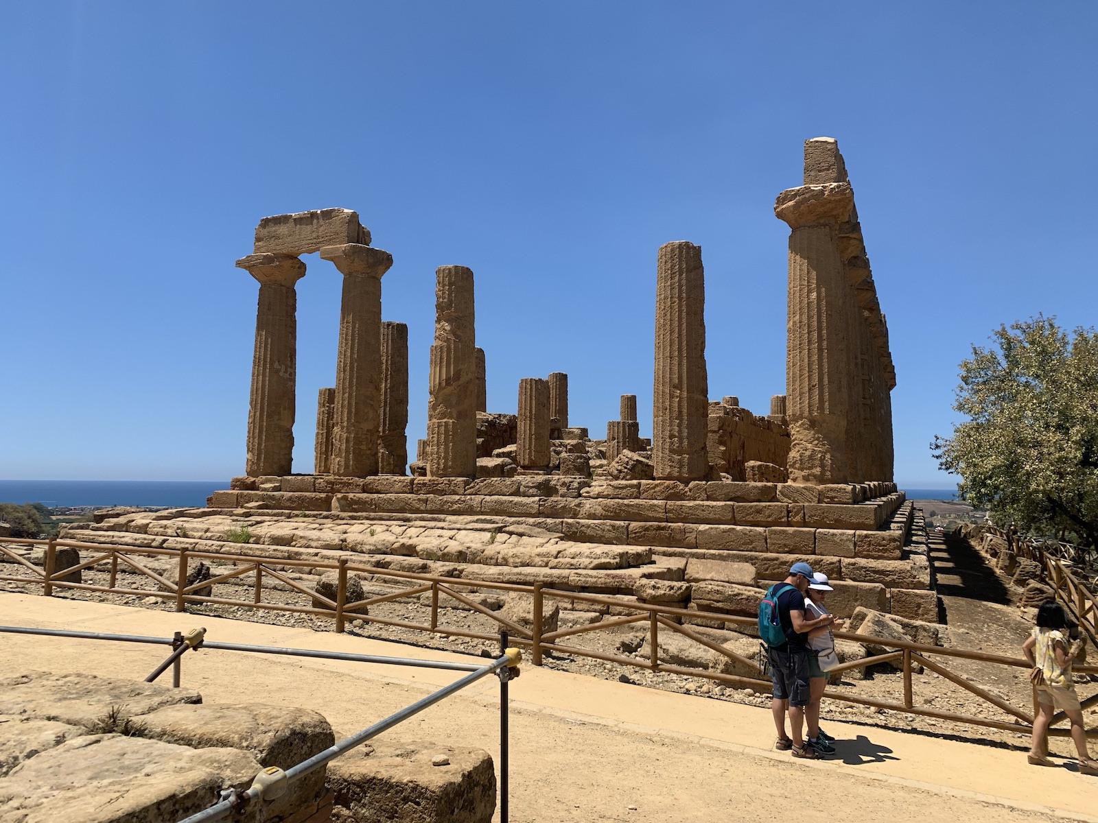 Az ókori romok