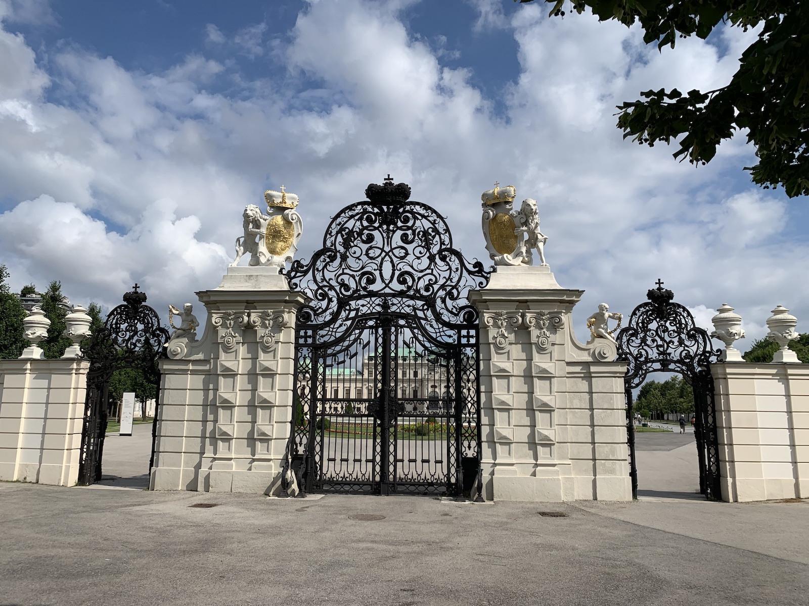 A Belvedere bejárata