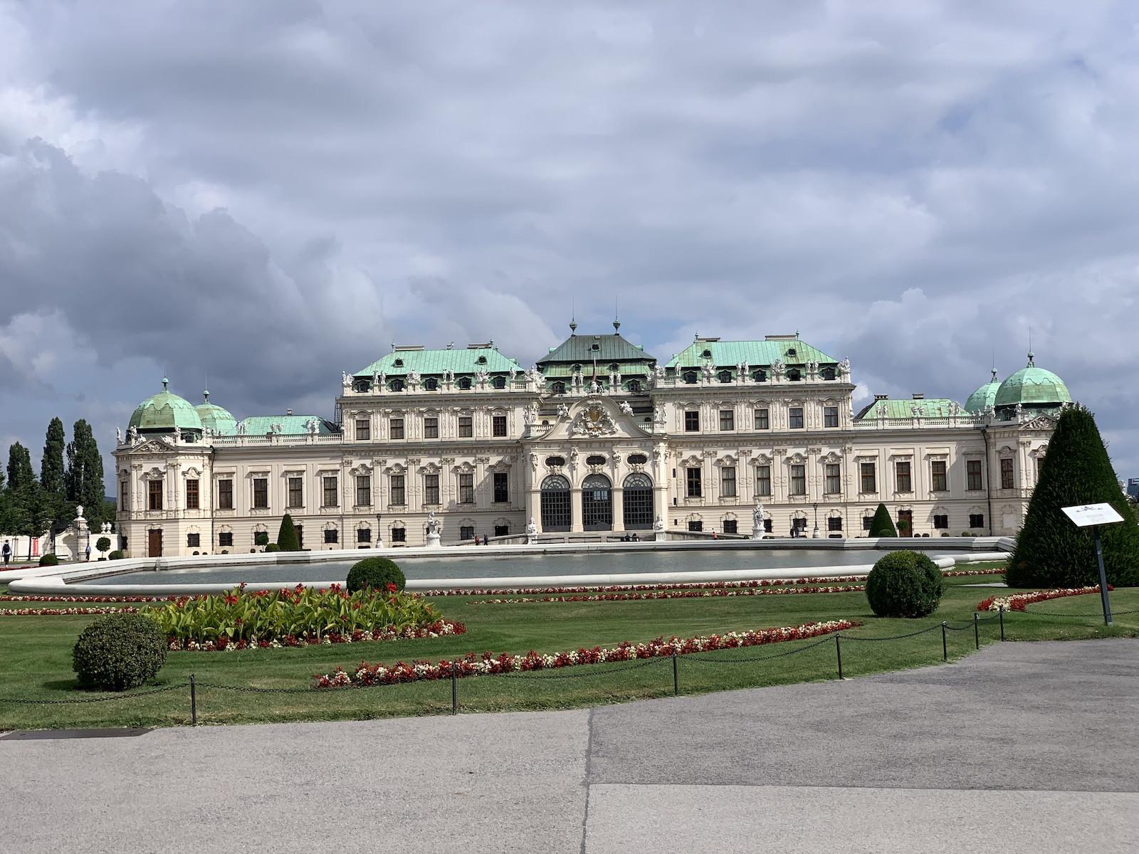 A Belvedere kastély I.