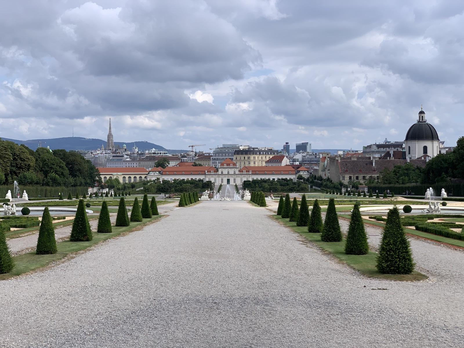 A kastélypark