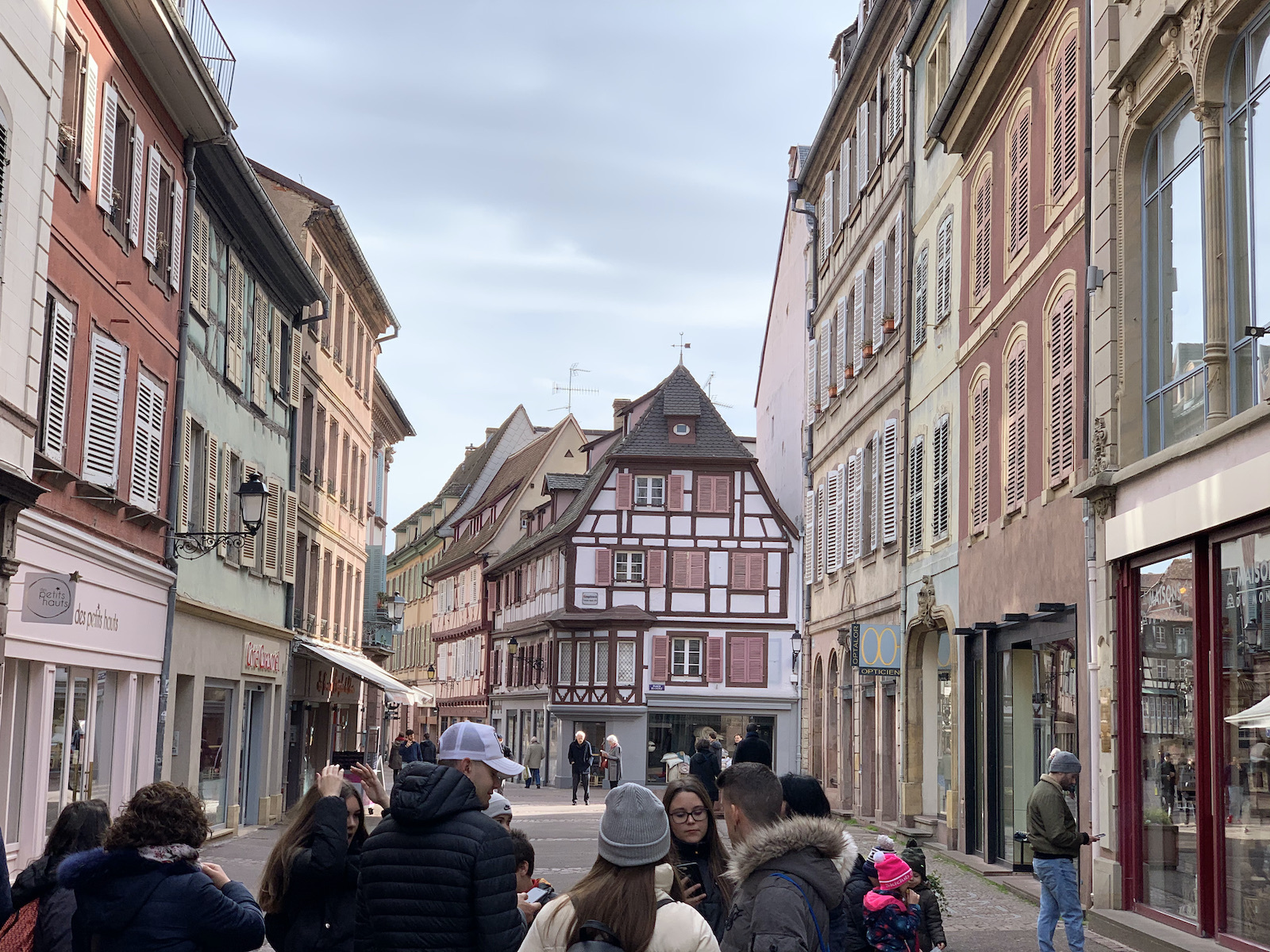 Colmar csodás belvárosa