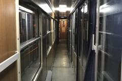 Szerb vasút, fekvőhelyes kocsi folyosó