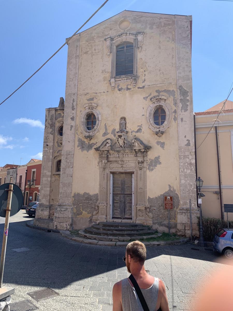 Templom Milazzoban