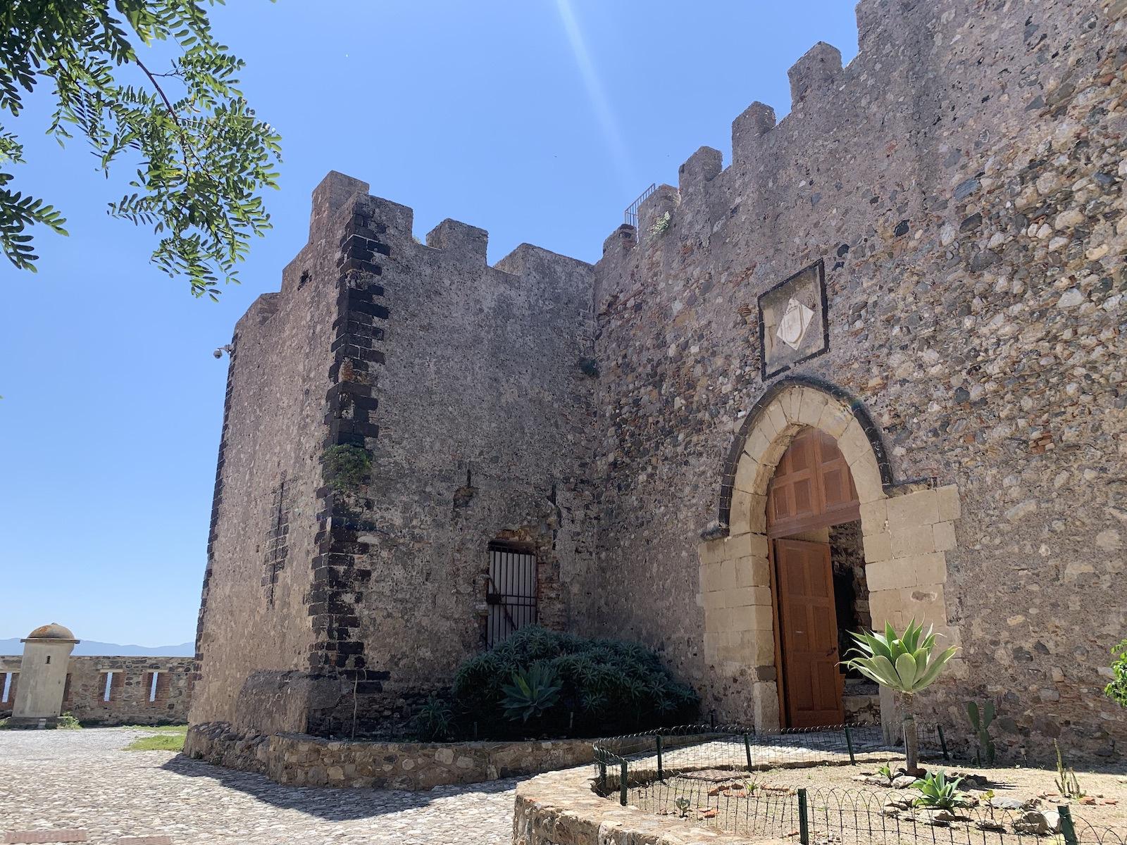 A vár fala