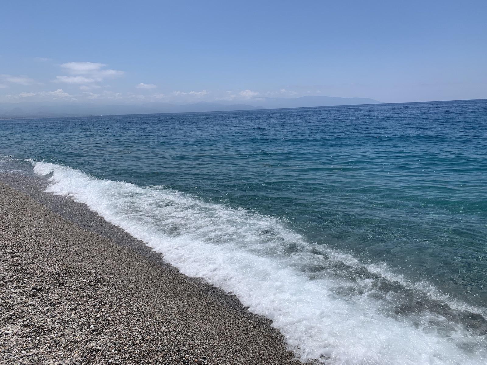 Milazzoi tengerpart